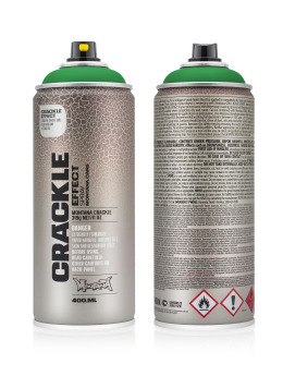 Montana Spraydosen CRACKLE Effect 400ml EC 6000 Patina Green grün