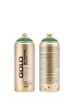 Montana Spraydosen GOLD_400ML 6010 Shock Green grün