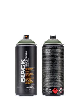 Montana Spraydosen BLACK 400ml 6730 Toad grün