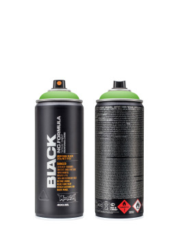 Montana Spraydosen BLACK 400ml 6000 Power Green grün