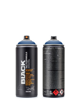 Montana Spraydosen BLACK 400ml 5080 Ultramarine modrý