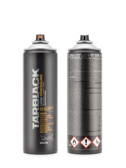 Montana Spraydosen Bombing 500ml Low Pressure Tarblack schwarz