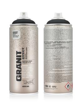 Montana Spraydosen Granit Effect 400ml EG 9000 Black schwarz