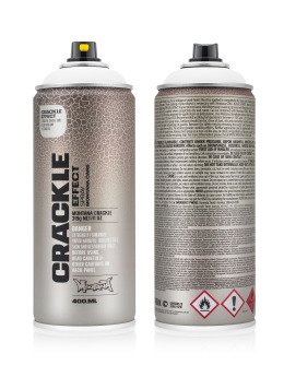 Montana Spraydosen CRACKLE Effect 400ml EC9010 Pure White weiß