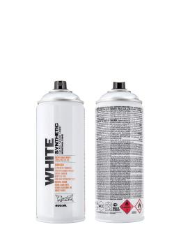 Montana Spraymaalit WHITE 400ml 0000 Silvar hopea
