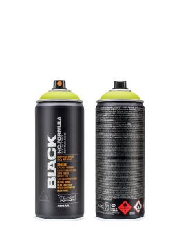 Montana Spraymaling BLACK 400ml 6005 Acid gul