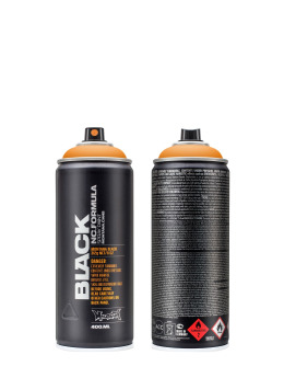 Montana Spraymaling BLACK 400ml 2070 Clockwork Orange orange