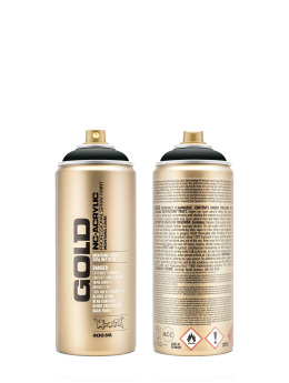 Montana Spraymaling GOLD_400ML 7090 Coke svart