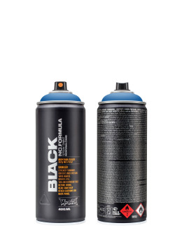 Montana Spuitbussen BLACK 400ml 5000 Power Blue blauw