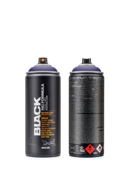 Montana Spuitbussen BLACK 400ml 4100 Power Violet paars
