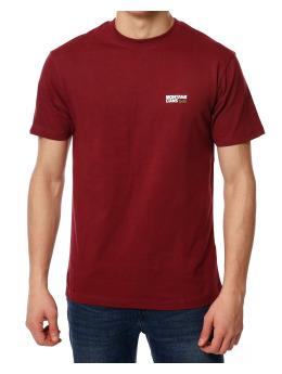 Montana T-Shirt Typo Logo rot