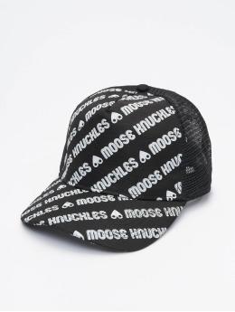 Moose Knuckles Кепка тракер Logo черный