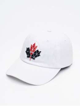 Moose Knuckles Snapback Caps Knuckles  bialy