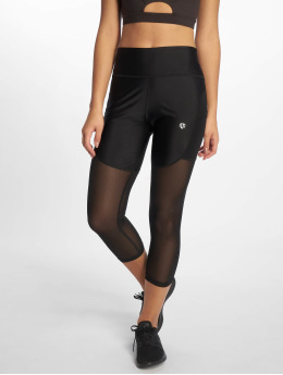MOROTAI Collant sportivi Performance Capri Mesh nero