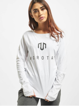 MOROTAI Langærmede Naka Premium Brand hvid
