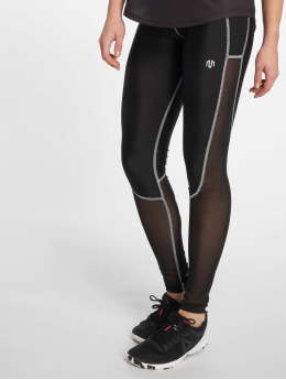 MOROTAI Sportleggings Dual Mesh svart