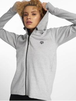 MOROTAI Zip Hoodie Comfy Performance grau