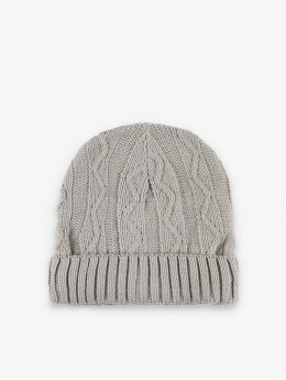 MSTRDS Beanie Cable Flap grigio