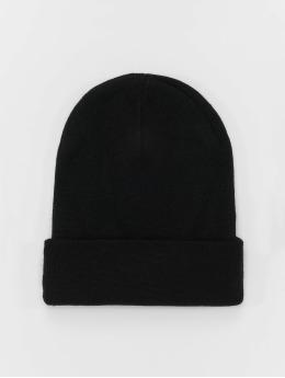 MSTRDS Beanie Basic Flap Long zwart