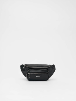 NA-KD Bag Zipper Detail Fanny black