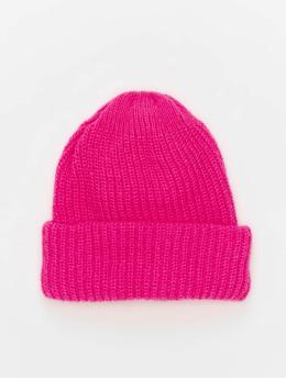 NA-KD Beanie Neon pink