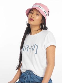 NA-KD Camiseta Logo blanco