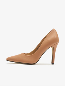 NA-KD Chaussures à talon PU magenta