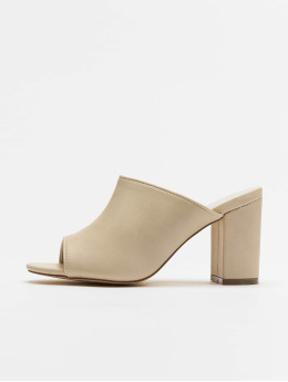 NA-KD Claquettes & Sandales Block beige