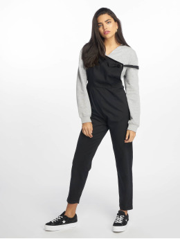 NA-KD Combinaison & Combishort Tie Strap noir