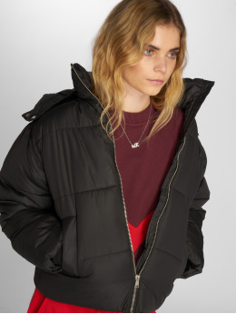 NA-KD Gewatteerde jassen Piper zwart