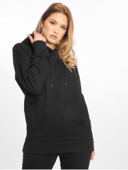 NA-KD Hoodies Logo Oversized čern