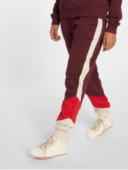 NA-KD joggingbroek Blocked rood