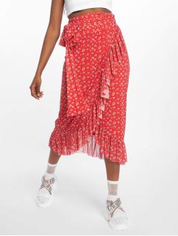 NA-KD | Mesh Overlap rouge Femme Jupe