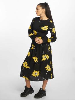 NA-KD jurk Wide Cuff Balloon Sleeve zwart
