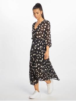 NA-KD Kleid Dot schwarz