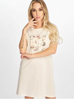 NA-KD Kleid Printed weiß