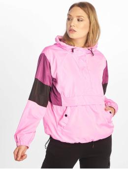 NA-KD Overgangsjakker Hood Anorak pink