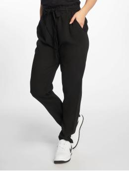 NA-KD Pantalon chino Tied Waist noir