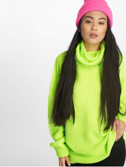 NA-KD Pullover Neon Oversized gelb