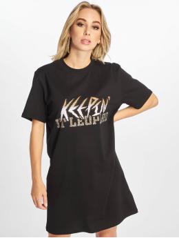 NA-KD Robe Keepin  noir