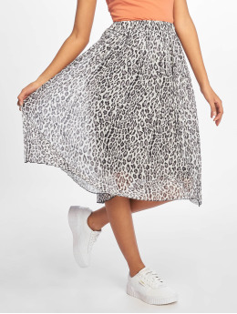 NA-KD Rok Midi Pleated grijs