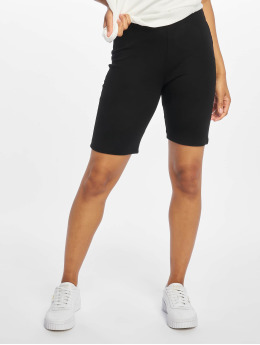NA-KD Short Highwaist Slim Jersey noir