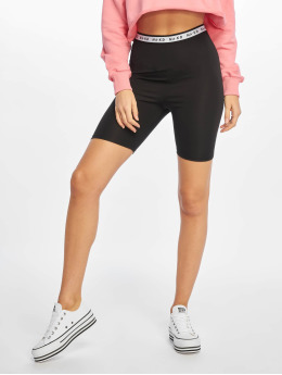 NA-KD Short Logo Cycling noir