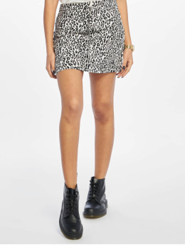 NA-KD Skirt Leopard Print black