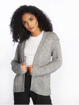 NA-KD Strickjacke Heavy Knit grau