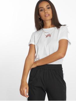 NA-KD T-Shirt Small Logo blanc