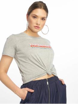 NA-KD t-shirt Fantastic grijs