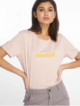 NA-KD T-Shirt Sexual rose