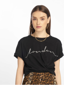 NA-KD T-Shirt London schwarz