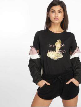 NA-KD T-Shirt Make My Own Choice schwarz